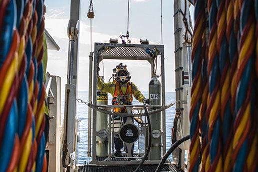 Bhagwan Marine Goes Subsea