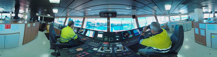 Virtual Vessel Tour a Major Hit at Australasian Oil & Gas Expo