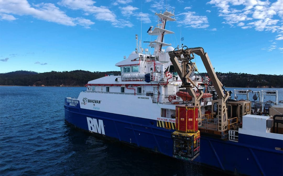 Northern Endeavour Mooring Chain Inspection