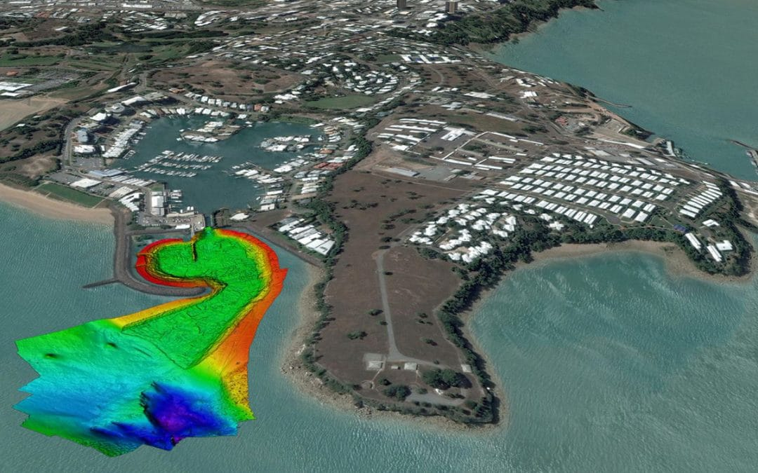 Cullen Bay Bathymetric Survey & Dredging Activities
